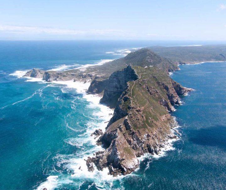 Cape Point et le Cap de Bonne Espérance en Afrique du Sud