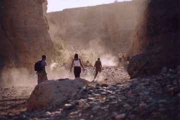 randonnée dans un canyon