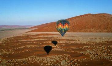 Safari en montgolfière au lever du soleil en Namibie - Cap au Sud de la Namibie