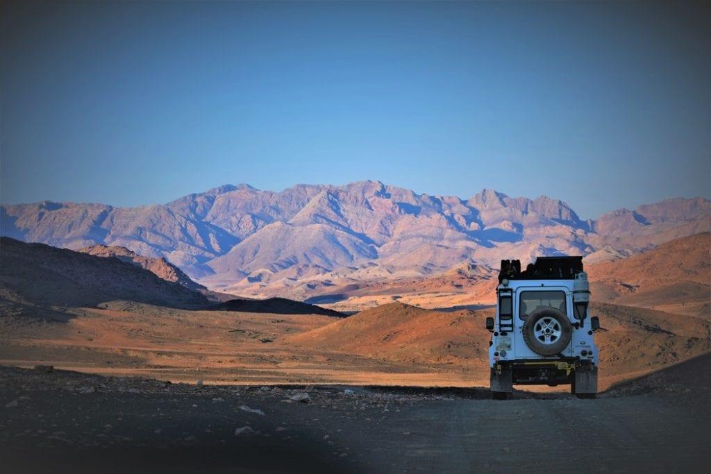 Safari en Namibie et road-trip en 4x4