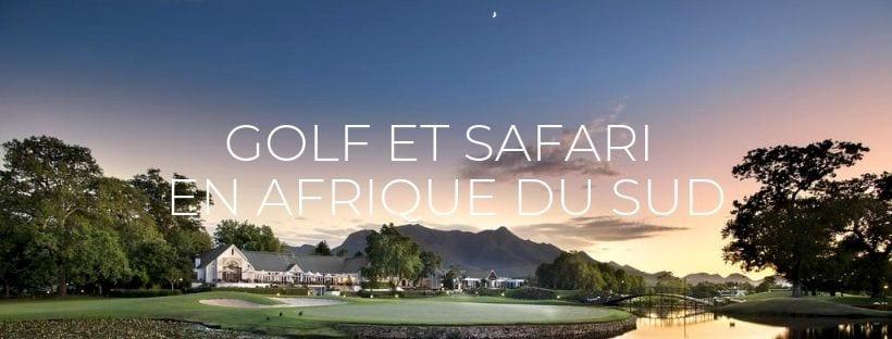 "Header ""Golf et Safari en Afrique du Sud"""