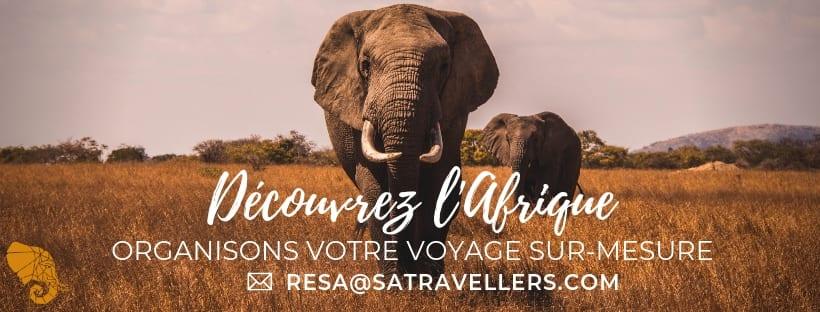 South African Travellers, agence de voyage et safari en Afrique.