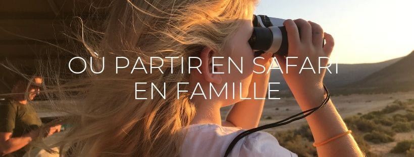 Header Destinations safari en famille