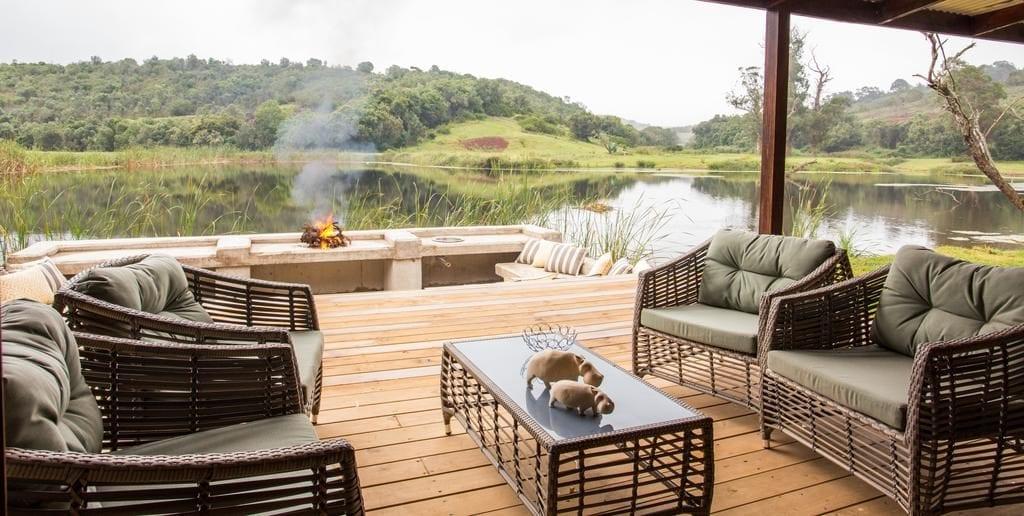 Lodge de la réserve privée de Botlierskop, sur la Route des Jardins pour un safari en famille.