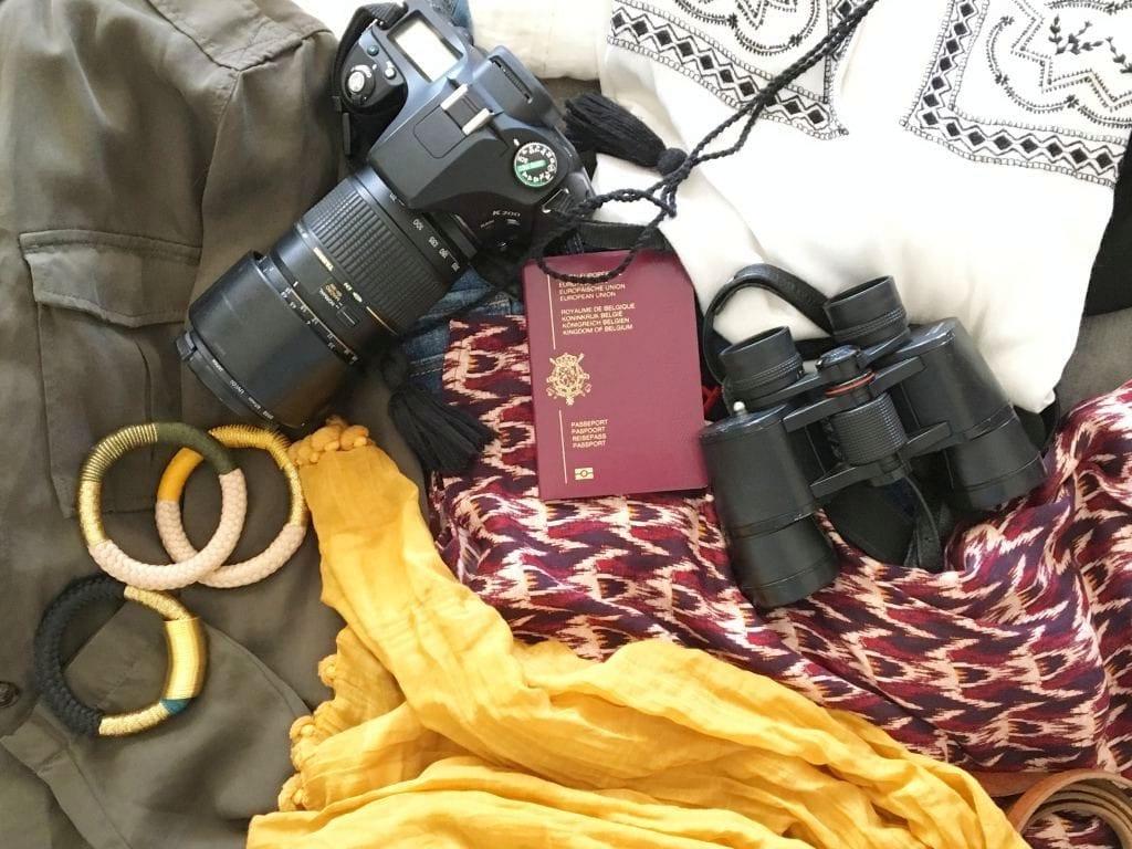 """Valise safari par Poesy by Sophie - Photo de l'article """"Que mettre dans sa valise pour partir en safari"""""""