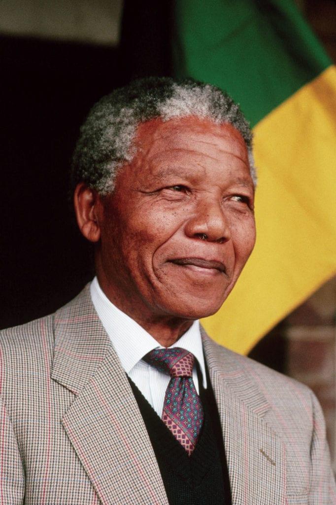 Nelson Mandela, premier président noir d'Afrique du Sud