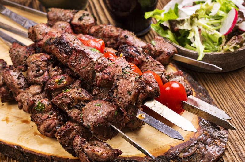 Les Sosaties, une spécialité issue de la gastronomie Sud-Africaine.