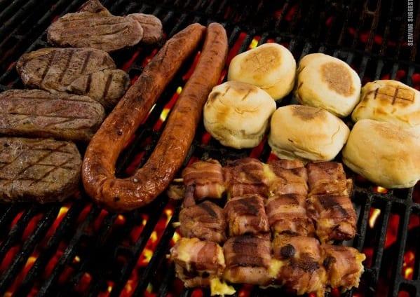 Un Braai traditionnel, une spécialité issue de la gastronomie Sud-Africaine.