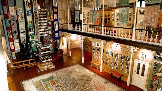 Le District Six Museum, un musée situé à Cape Town, en Afrique du Sud.