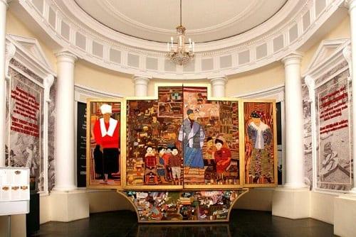 """Le musée """"Slave Lodge"""" autrement dit : """"Comptoir aux esclaves"""", à Cape Town"""