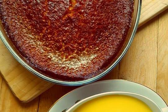 Le Malva pudding, une spécialité issue de la gastronomie Sud-Africaine.