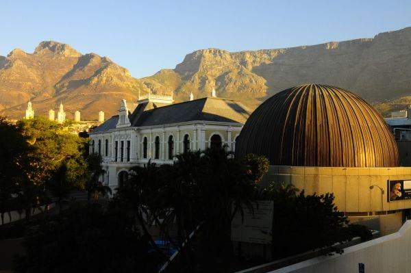 Le Planetarium de Cape Town, situé au sein du musée Sud-Africain.