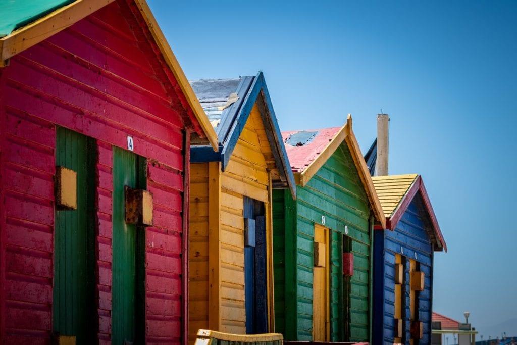 """Photo des cabines de plage de l'article """"Road Trip jusqu'au Cap de Bonne Espérance"""""""