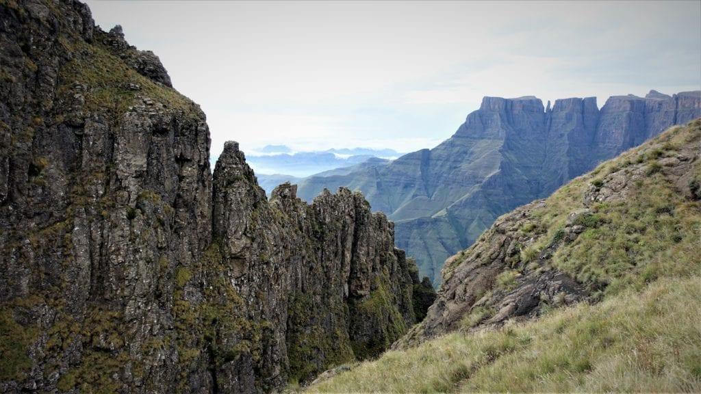 Amphithéâtre du Drakensberg - Article randonnées du Drakensberg
